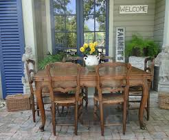 Antique Oak Dining Tables Antique French Country Dining Table With Draw Leaf And Oak Parquet Top