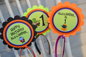 Halloween Happy Birthday by Halloween Birthday Centerpiece Sticks Halloween Birthday