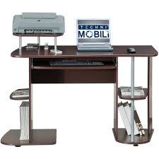 Rta Office Furniture by Techni Mobili Multifunction Computer Desk Chocolate Walmart Com