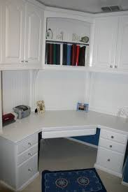 Built In Corner Desk White Corner Desk With Hutch By Lumberjocks