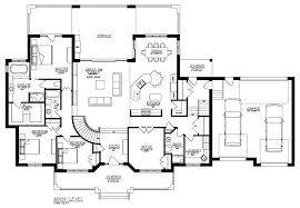 1 story open floor plans basement decor remarkable ranch house plans with walkout basement