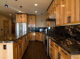 Kitchens With Hickory Cabinets Brand New Beachfront Home In The Village Homeaway Kings Beach