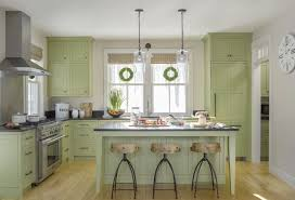 what color goes with green cabinets new this week 4 refreshing kitchens with green cabinets