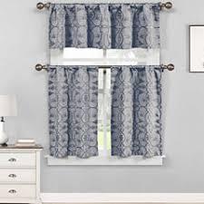 Blue Kitchen Curtains by Blue Kitchen Curtains For Window Jcpenney