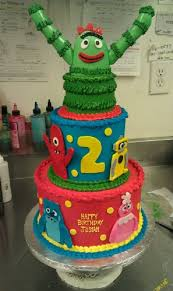 51 best cakes images on birthday party ideas yo gabba