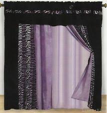 Zebra Valance Curtains Greater Than 100