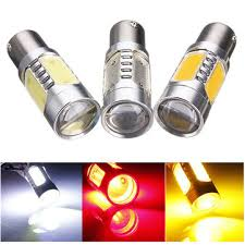 bau15s 1156 7 5w car cob led turn signal light lamp bulb us 5 99