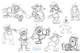 Willie The Wombat Bandipedia Fandom Powered By Wikia Crash Bandicoot Coloring Pages