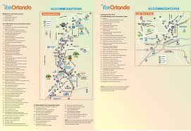 Florida Map Orlando by Orlando International Drive Hotel Map