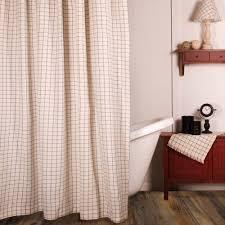 summerville shower curtain colonial blue primitive home decors