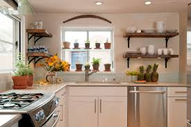 Kitchen Shelf Designs by Chrome Kitchen Shelving Kitchen Midcentury With Suspended Shelves