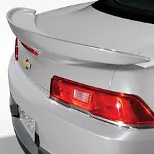 camaro rear spoiler gm 23481657 z28 style rear spoiler silver fits 2014 2015