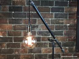 industrial floor lamp articulating pulley lamp pendant