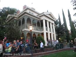 theme park archive haunted mansion at disneyland