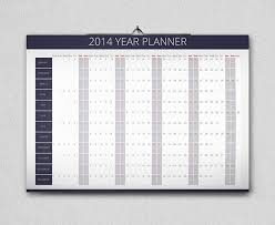 year planner 2014 free on behance