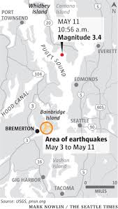 Map Of Greater Seattle Area by Did You Feel That Small Earthquake Off Whidbey Island Shakes