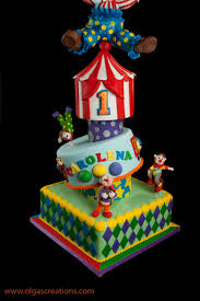 first birthday circus big top circus 1st birthday cake cakecentral com