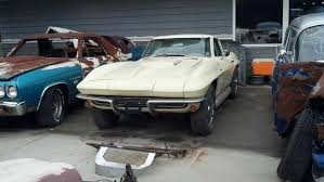 corvette project for sale corvettes on ebay package deal of 11 project c2 corvette sting