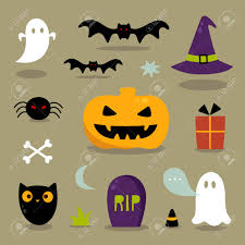 cute halloween icons royalty free cliparts vectors and stock