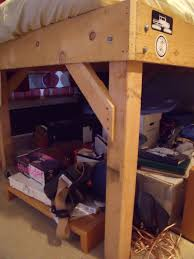 Wood To Make Bunk Beds by Diy 4x4 Bunk Beds Make Your Own Loft Bed Bodacious Bunk Beds