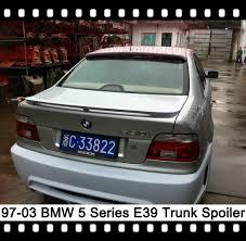 bmw e39 rear e39 rear spoiler 5 series rear trunk spoiler 520i boot spoiler