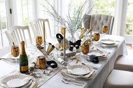 best table decorations with vintage tableware for welcoming new year