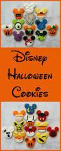 the partiologist disney themed halloween cookies