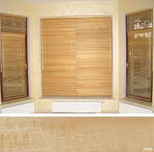 wood and bamboo blinds toronto window blinds in pvc wood and