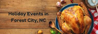 what to do during thanksgiving in forest city nc events