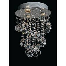 chandeliers starfire crystal string lighting collection 3 light