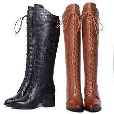 womens boots the knee wastyx the knee high boots fashion high heel boots