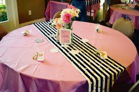 so there christy u0027s kate spade themed bridal shower