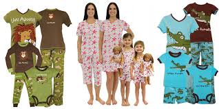 matching pajamas for family reunions bridal