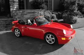 porsche cabriolet turbo porsche 911 turbo look cabriolet convertible no reserve