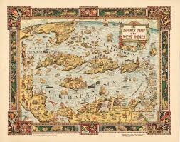 Map Curacao The Story Map Of The West Indies Hjbmaps Com U2013 Hjbmaps Com