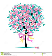 floral tree royalty free stock images image 24826629