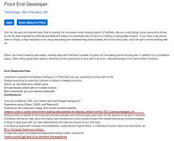 Java Resumes Resume For Front End Developer Resume For Your Job Application