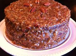 german chocolate cake with coconutpecan frosting recipe just a pinch