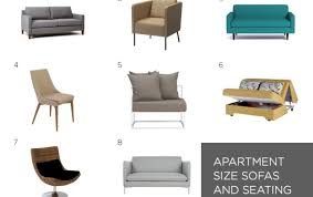 sofa awesome apartment size furniture images home iterior design