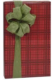 christmas plaid wrapping paper woodland berry plaid christmas gift wrap wrapping