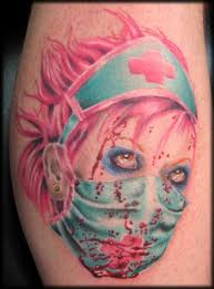 for unique travis litke tattoos bloody nurse u003d