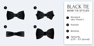 men u0027s u201cblack tie u201d dress code bows n ties com