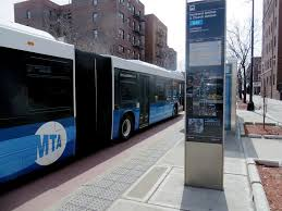 M60 Bus Route Map by Eyes On The Street Real Time Bus Arrival Display On Nostrand Ave