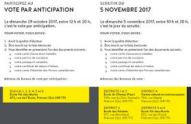 bureau carte assurance maladie greffe élections municipales 2017 ville de prévost
