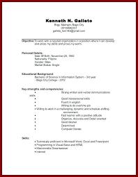exle resume for college internship resume templates for college students for internships high