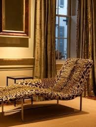Leopard Chaise Lounge Fabric Chaise Lounge Chairs Foter
