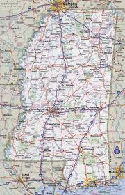 State Maps For Sale by Large Detailed Roads And Highways Map Of Mississippi State With