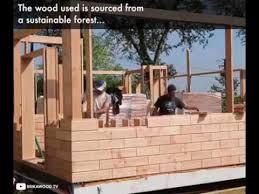 wood lego house brick wood these houses are constructed using lego like wood