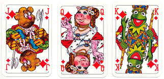 the muppet show the world of cards