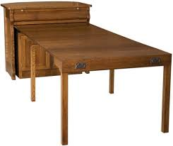 Flanders Kitchen Island Pull Out Table Countryside Amish Furniture - Kitchen pull out table